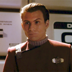 Christian Slater on Star Trek